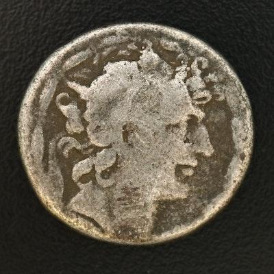 Ancient Greece, Macedonia AR Tetradrachm Coin of Philip II, ca. 336 B.C.