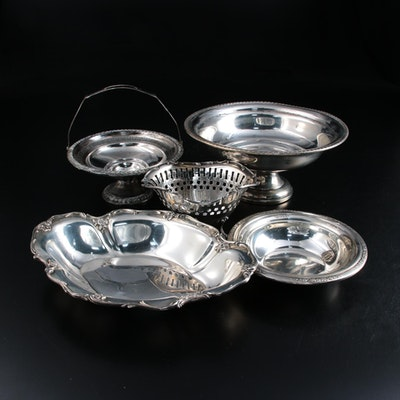 Gorham, Towle and Other Sterling Silver Compotes and Bowls