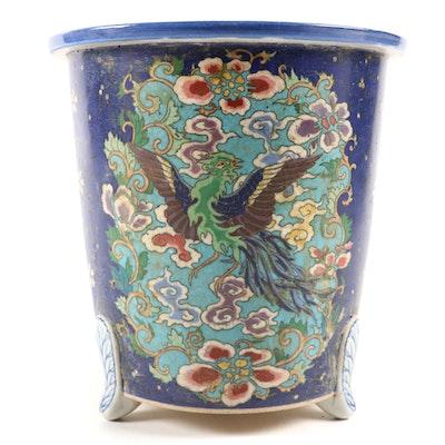 Chinese Porcelain Cloisonné Bonsai Jardinière