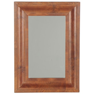 Empire Wooden Ogee Framed Wall Mirror, 1854
