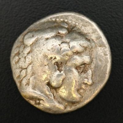 """Ancient Macedonia AR Tetradrachm of Alexander III, """"The Great"""" ca. 336 B.C."""
