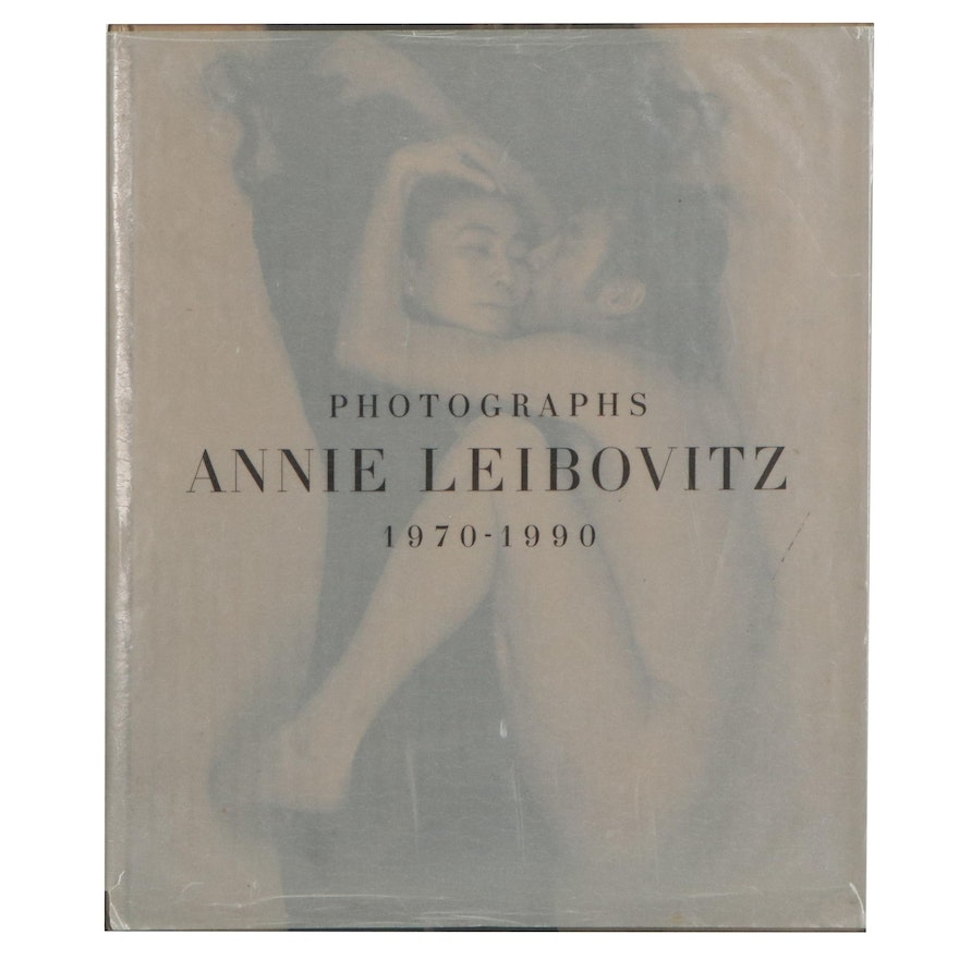 """First Edition, First Printing """"Photographs, 1970–1990"""" by Annie Leibovitz, 1991"""