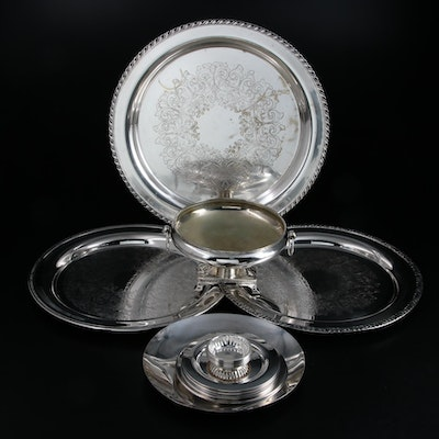 Gorham, Oneida and Wm. Rogers Silver Plate Serveware