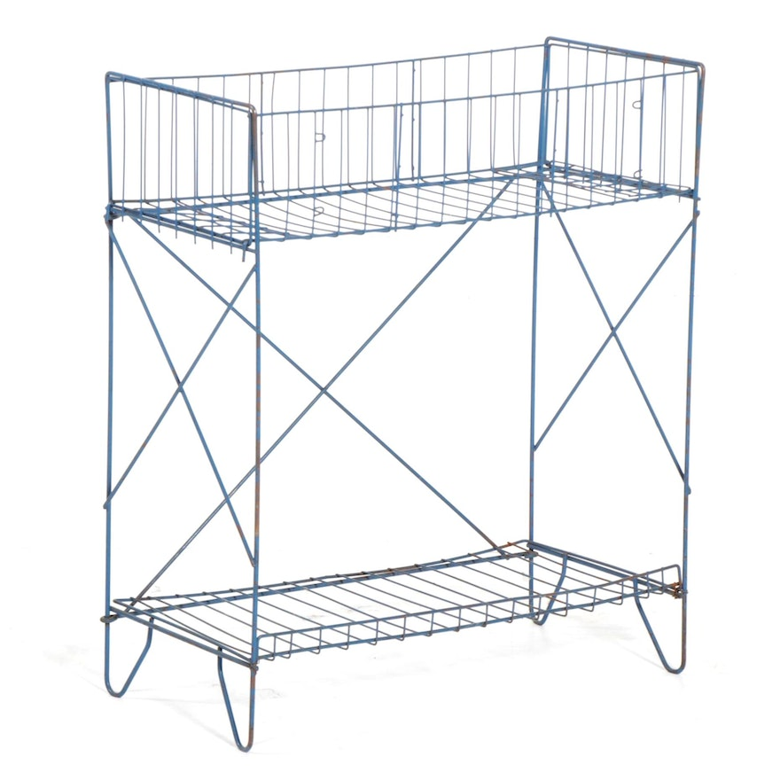 Wire Rack or Stand, Mid to Late 20th Century