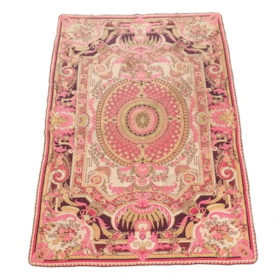 6' x 8'9 Machine Made French Savonnerie Tapestry Style Area Rug
