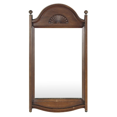 Federal Style Wooden Wall Mirror, Early 19th Century