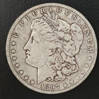 Better Date 1897-O Morgan Silver Dollar