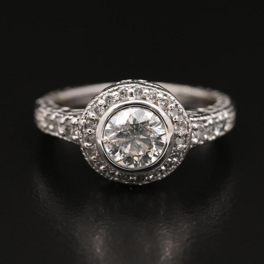 10K 1.37 CTW Diamond Ring