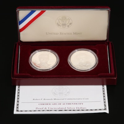 1998-S Kennedy Commemorative Silver Coin Set