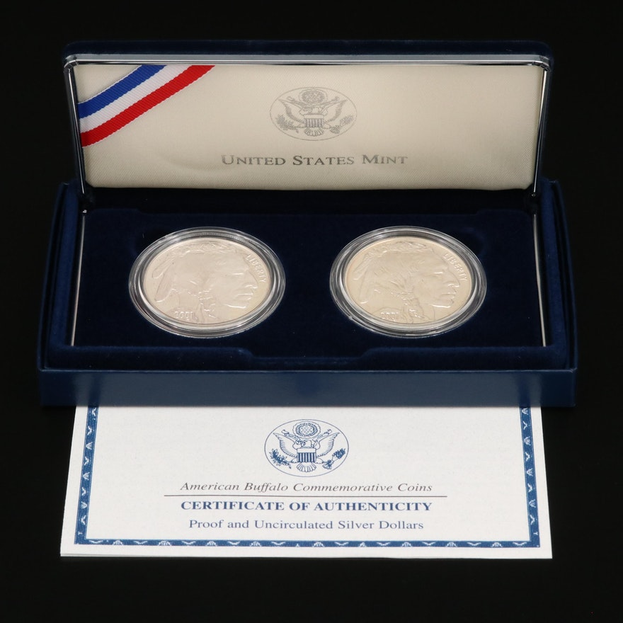 American Buffalo Commemorative Silver Dollars