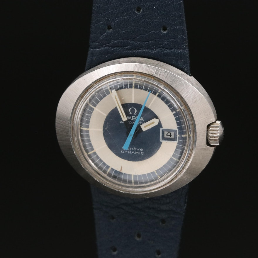 1970 Omega Geneve Dynamic I Stainless Steel Automatic Wristwatch