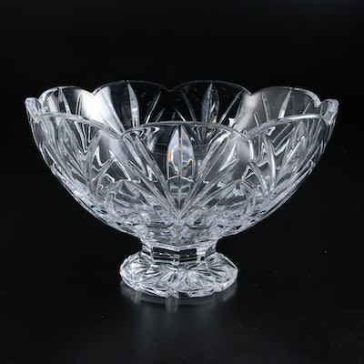 "Marquis by Waterford ""Canterbury"" Crystal Footed Bowl, 1995–2003"