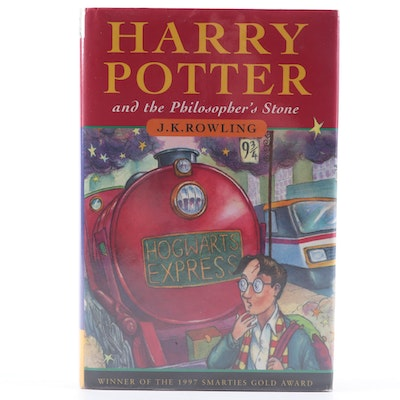 """Australian Second Printing """"Harry Potter and the Philosopher's Stone"""" by Rowling"""