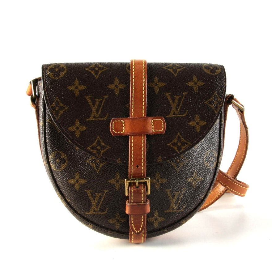 Louis Vuitton Shanti PM in Monogram Canvas with Vachetta Leather Trim