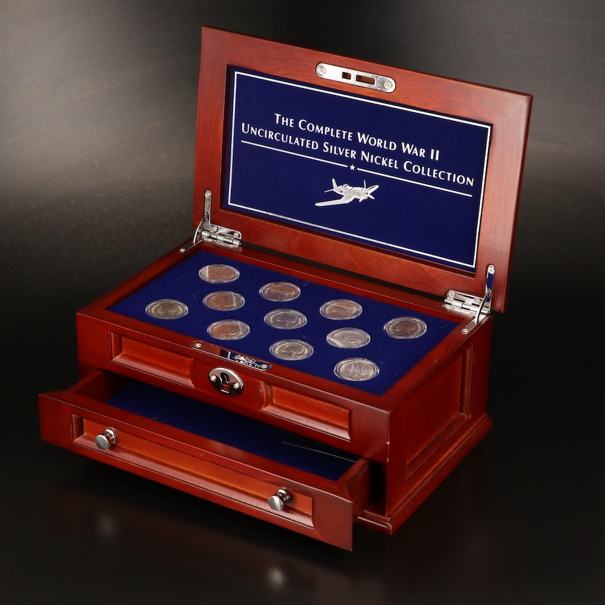 WWII Silver Nickel Collection