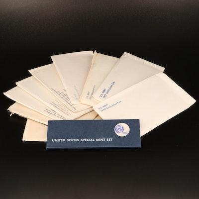 Twenty-Eight U.S. Mint Uncirculated Sets 1965–1999