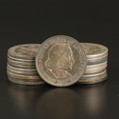 Twenty Columbian Exposition Half Dollars