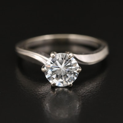 14K 1.17 CT Diamond Solitaire Ring