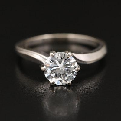 14K 1.17 CT Diamond Solitaire Ring