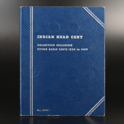 Whitman Binder of Indian Head Cents