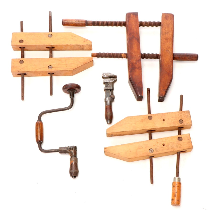Wood Working Tools and Clamps