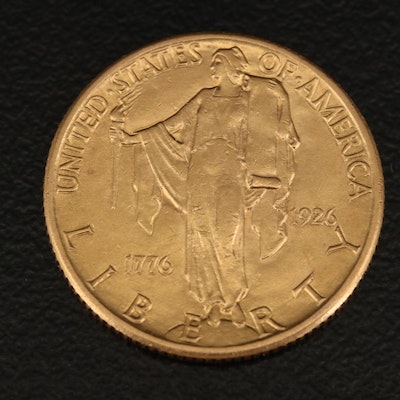 1926 Sesquicentennial of American Independence $2.50 Commemorative Gold Coin