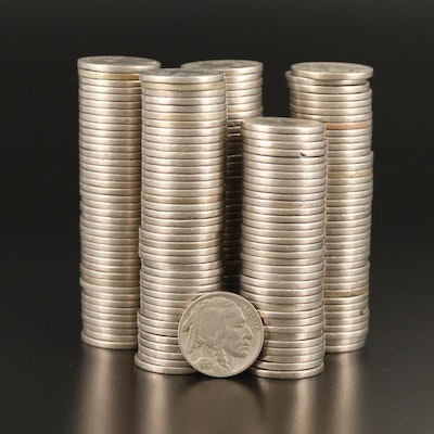 Collection of Buffalo Nickels, 1920s and 1930s