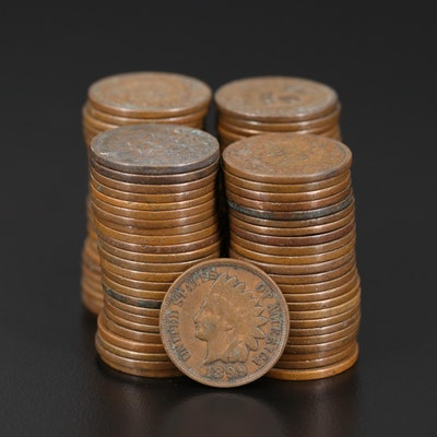 Ninety-Eight Indian Head Cents