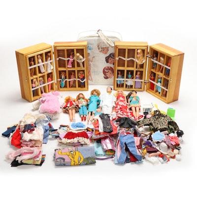 """Mattel Barbie Assortment Including 1962 Blonde Bubble-cut """"Midge"""", 1960s"""