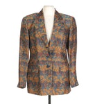 Missoni Donna Multicolor Woven Patterned Blazer, Made in Italy
