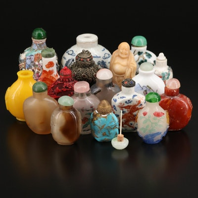 Chinese Snuff Bottle Collection