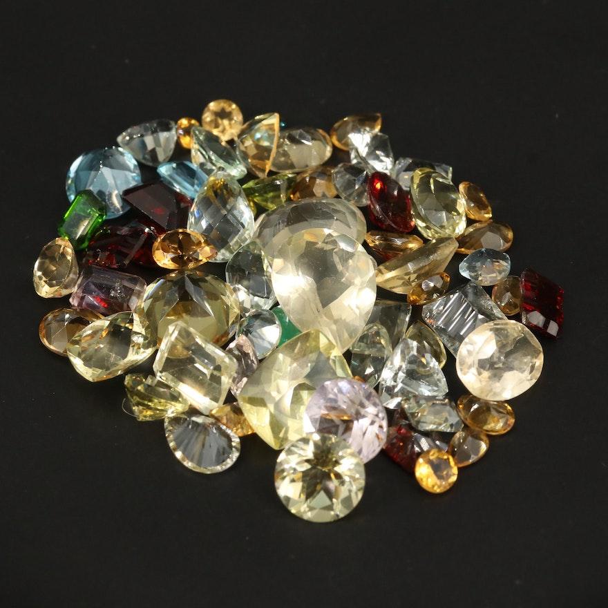 Loose 108.25 CTW Mixed Gemstones