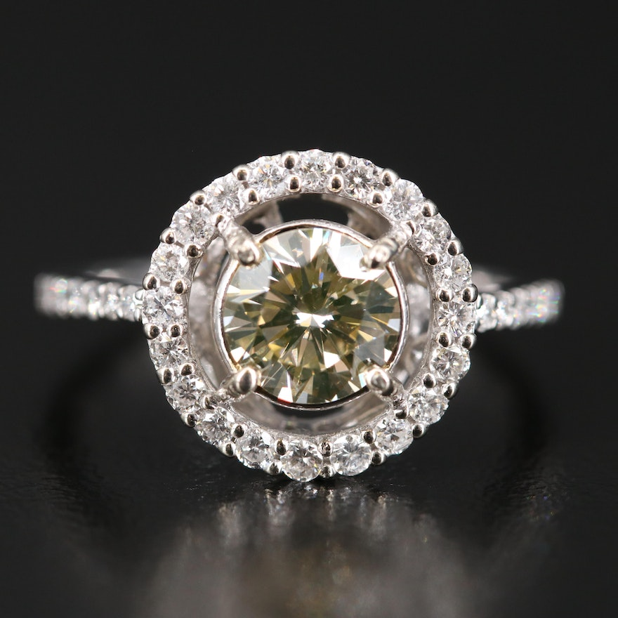 14K 1.60 CTW Diamond Ring