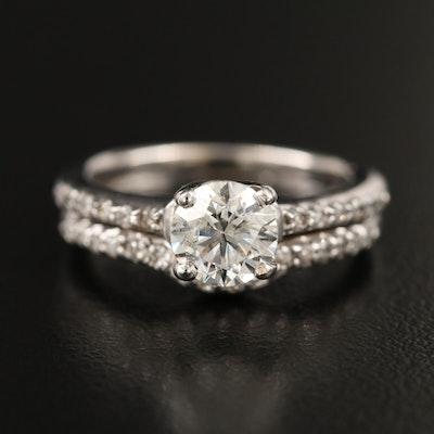 14K 1.22 CTW Diamond Ring