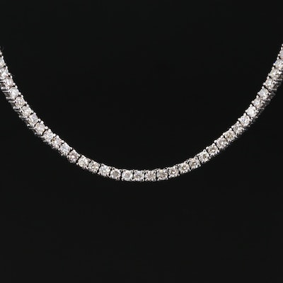10K 15.84 CTW Diamond Necklace