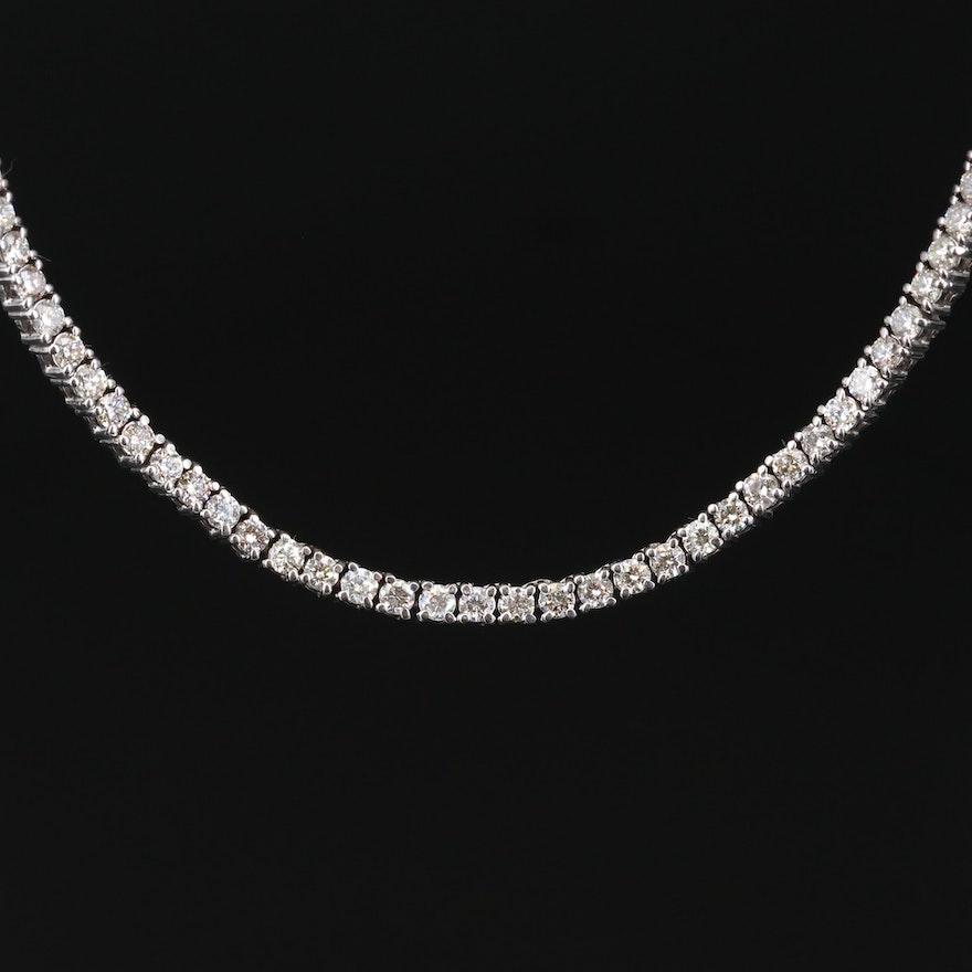 10K 15.84 CTW Diamond Necklace