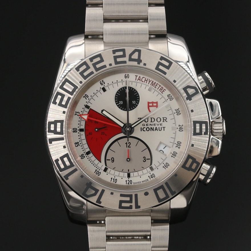 Tudor Iconaut GMT Chronograph Stainless Steel Automatic Wristwatch