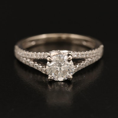 14K 1.14 CTW Diamond Ring
