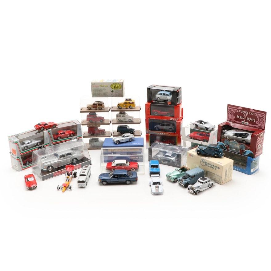 "Brumm ""Giardinetta Legno"", Landsdowne ""Wolseley"" and Other Scale Model Cars"