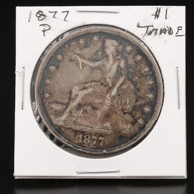 1877 Silver Trade Dollar