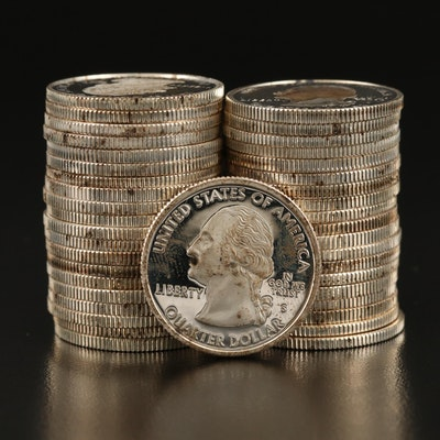Roll of Forty Proof Statehood Quarters