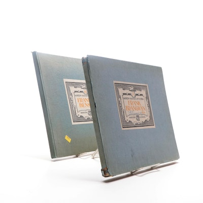 """Modern Masters of Etching: Frank W. Benson"" and ""Frank Brangwyn"" Volumes, 1920s"