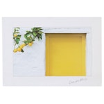 """Offset Lithograph after Georges Meiss """"Lemons with Yellow Door"""""""