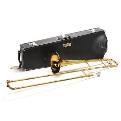 Conn Brass Trombone with Hard Travel Case