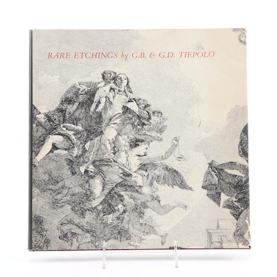 """First Printing """"Rare Etchings by G. B. and G. D. Tiepolo"""" by H. Diane Russell"""