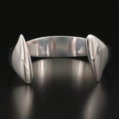 Modernist Hans Hansen Sterling Cuff #213