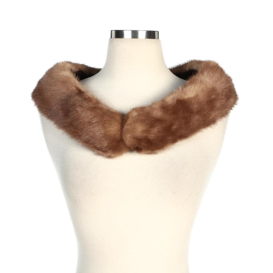 Mink Fur Collar from Shillito's of Cincinnati