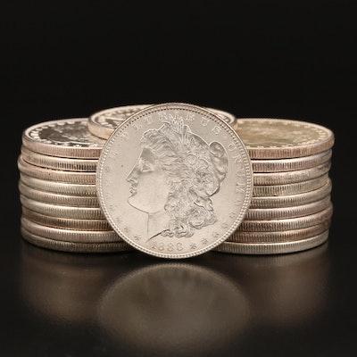 1887 and 1888 Morgan Silver Dollars