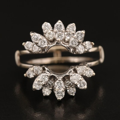 14K 1.20 CTW Diamond Ring Jacket