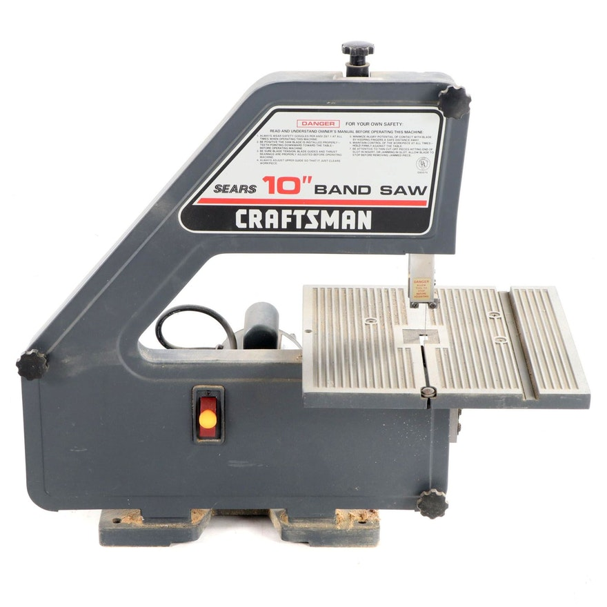 Craftsman for Sears 10-Inch Band Saw